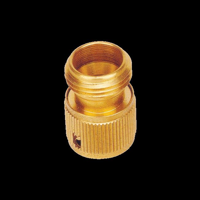 """¾"""" Male Brass Hose Connector -(No.Y-726)"""