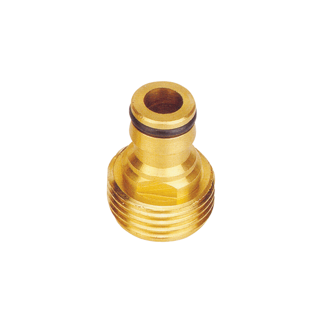 "¾"" Male Brass Hose Connector -(No.A-306)"