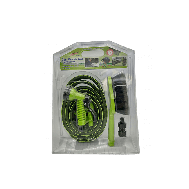 50FT Expandable Garden Hose 3 in 1 car wash set --No.(WE75001)